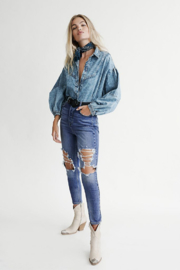 Free People  Phoenix Skinny Jean - Product Mini Image