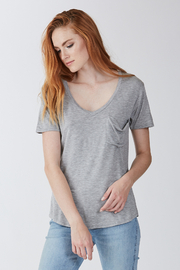 another love  Phoenix Soft V Neck Pocket Tee - Front cropped