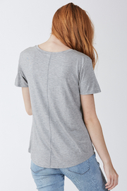 another love  Phoenix Soft V Neck Pocket Tee - Side cropped