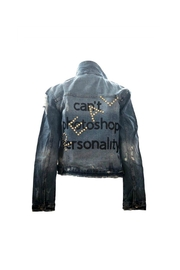 HIPCHIK  Photoshop Denim Jacket - Product Mini Image