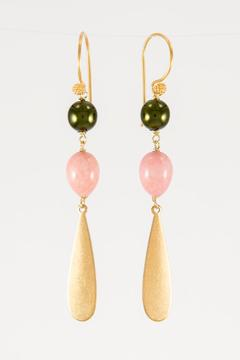 Pia Andersen Jewelry Pink Vintage Stuff Earrings - Alternate List Image