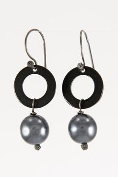 Shoptiques Product: Silver Earrings