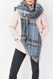 Pia Rossini Blanket Scarf - Front cropped