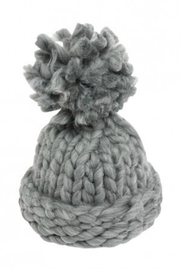 Pia Rossini Chunky Knit Hat - Front cropped