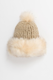 Pia Rossini Faux Fur Hat - Front cropped