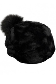 Pia Rossini Fur Beanie Hat - Product Mini Image