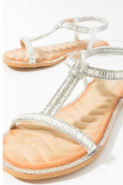 Pia Rossini Silver Stone Sandals - Product Mini Image