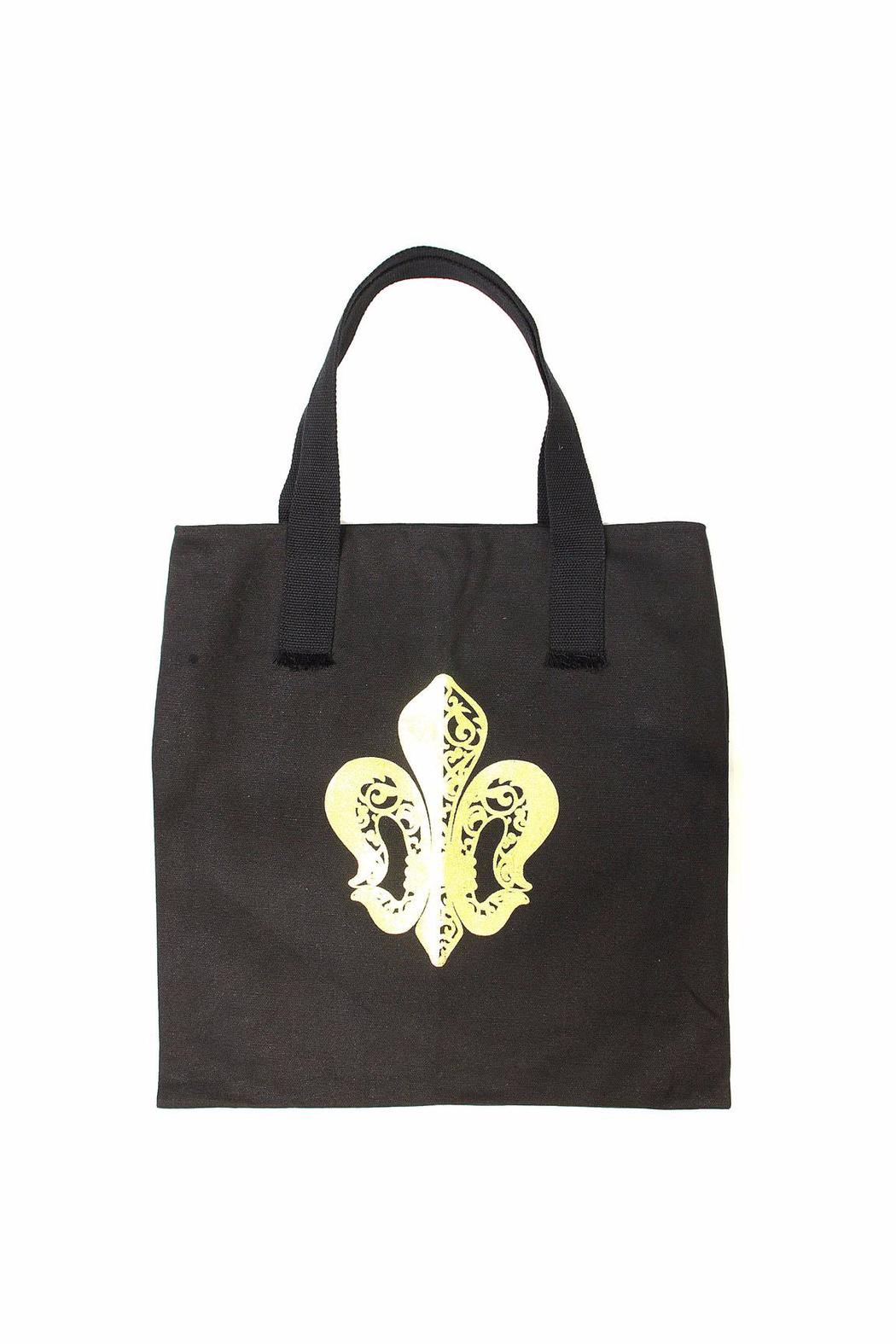 Piazza Fleur-De-Lis Canvas Bag - Main Image