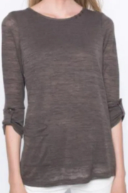 Picadilly 3/4 Sleeve Top With Side Pocket - Product Mini Image
