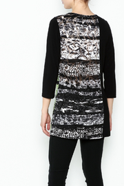 Picadilly Abstract Print Tunic - Back cropped