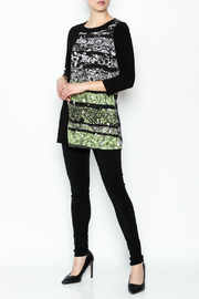 Picadilly Abstract Print Tunic - Side cropped