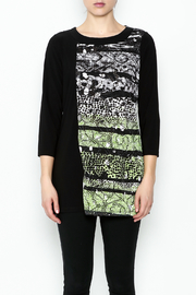 Picadilly Abstract Print Tunic - Front full body