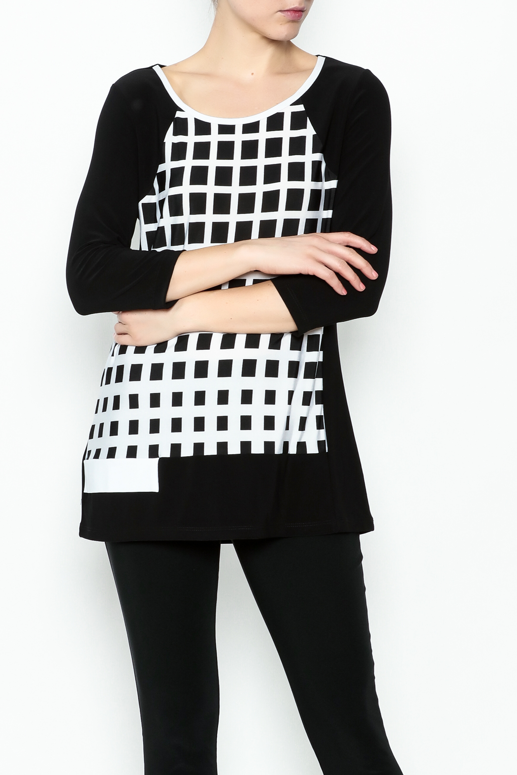 Picadilly Gingham Classic Top - Main Image