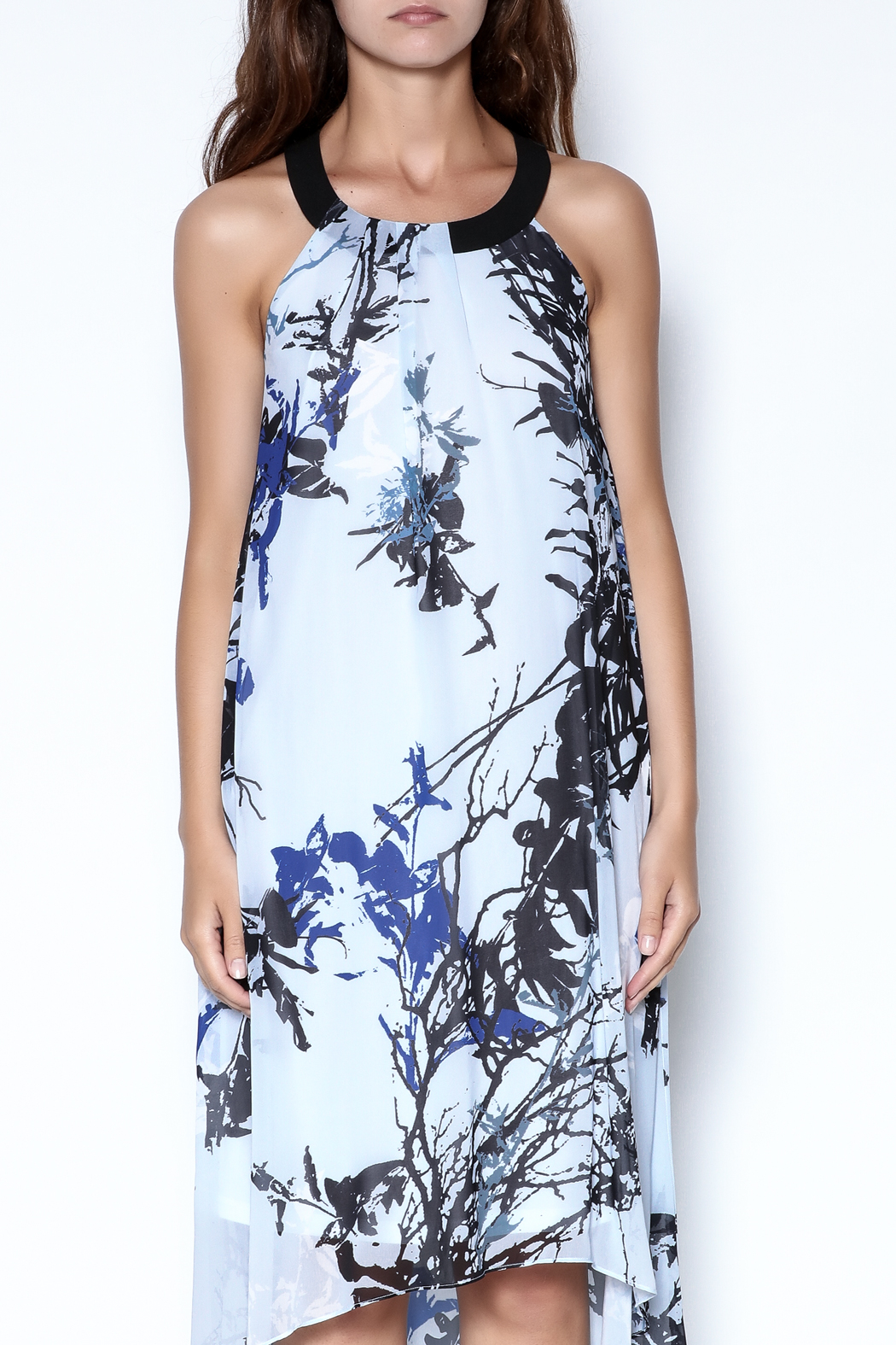 Picadilly High Low Dress - Front Cropped Image