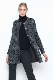 Picadilly Long Lace Jacket - Front cropped