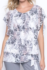 Picadilly Pretty Print Top - Product Mini Image