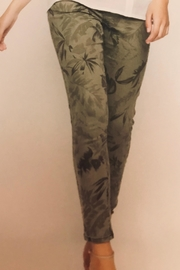 Picadilly Printed Denim Pant - Front full body