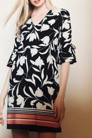 Picadilly Tulip Print Dress - Front cropped