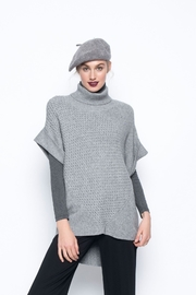 Picadilly Turtleneck Knit Vest - Front cropped