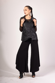 Picadilly Women's Jersey Flare Pants - Product Mini Image
