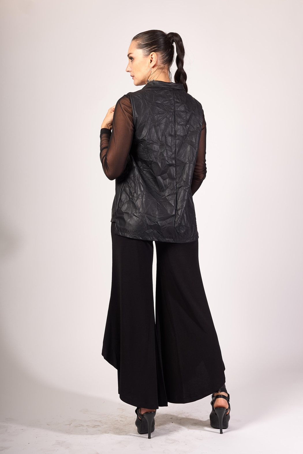 Picadilly Women's Jersey Flare Pants - Front Full Image