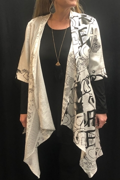 Vintage Picasso print duster - Product List Image