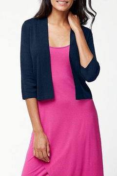 Tommy Bahama Pickford Cropped Dress Cardigan - Product List Image