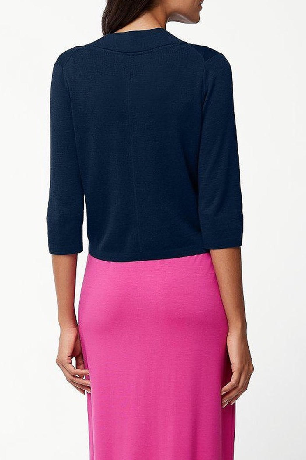 Tommy Bahama Pickford Cropped Dress Cardigan - Front Full Image