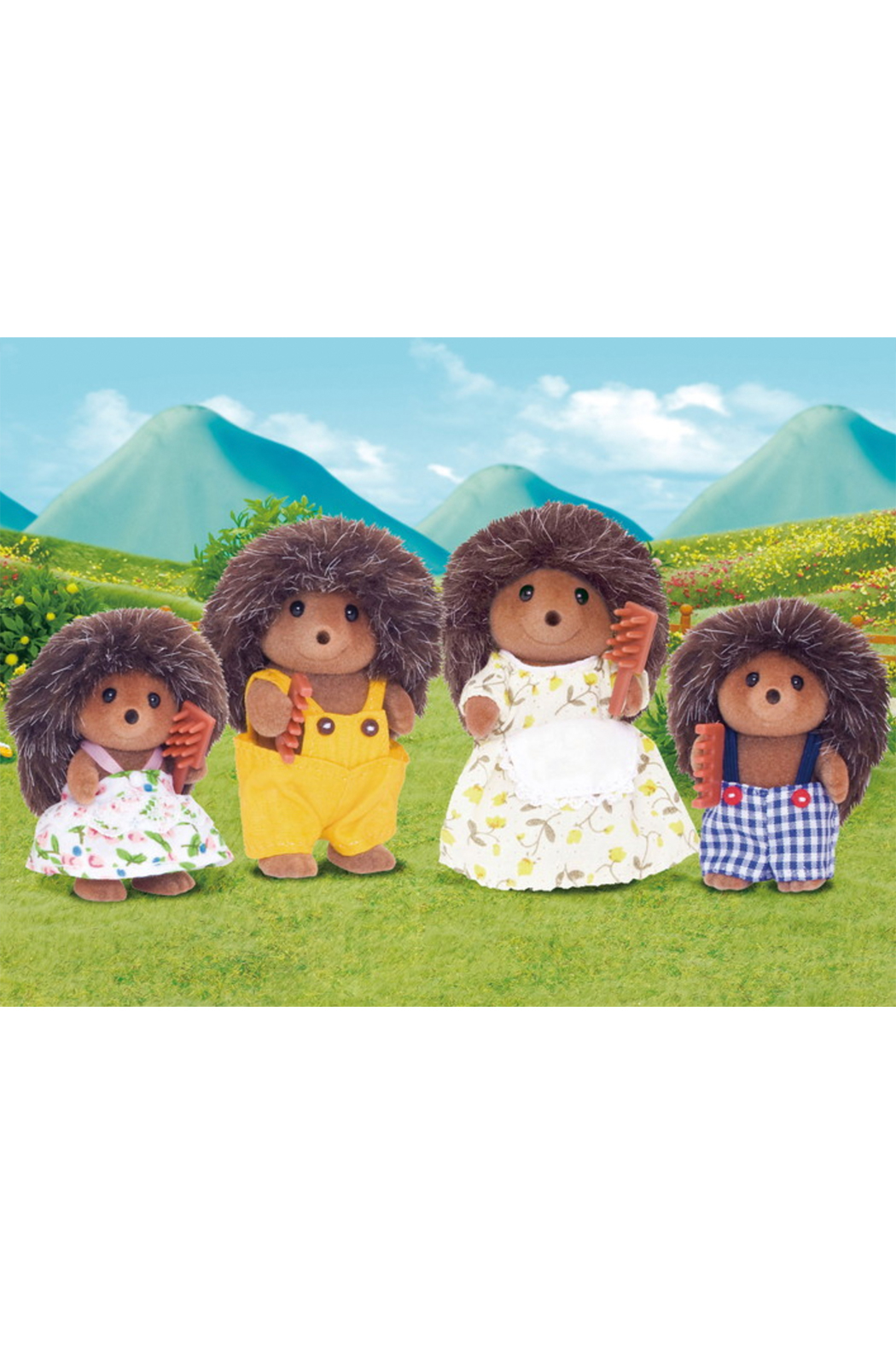 Calico Critters Pickleweeds Hedgehog Family - Main Image