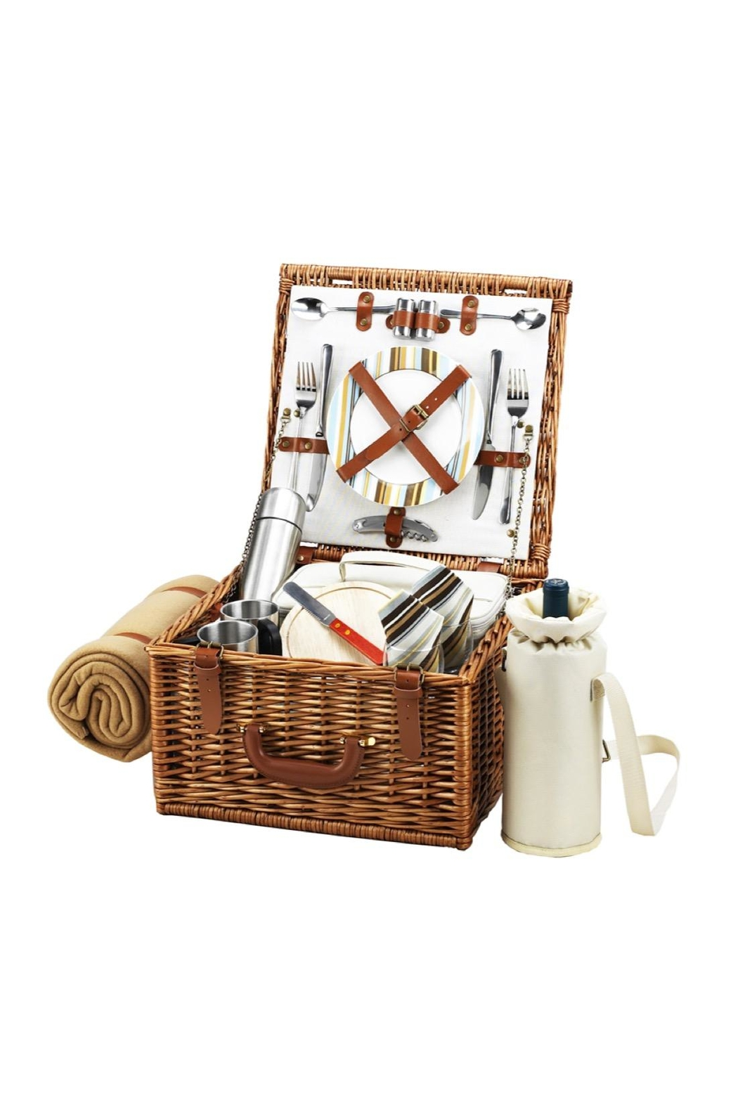 Picnic at Ascot  Picnic Basket Set - Front Cropped Image