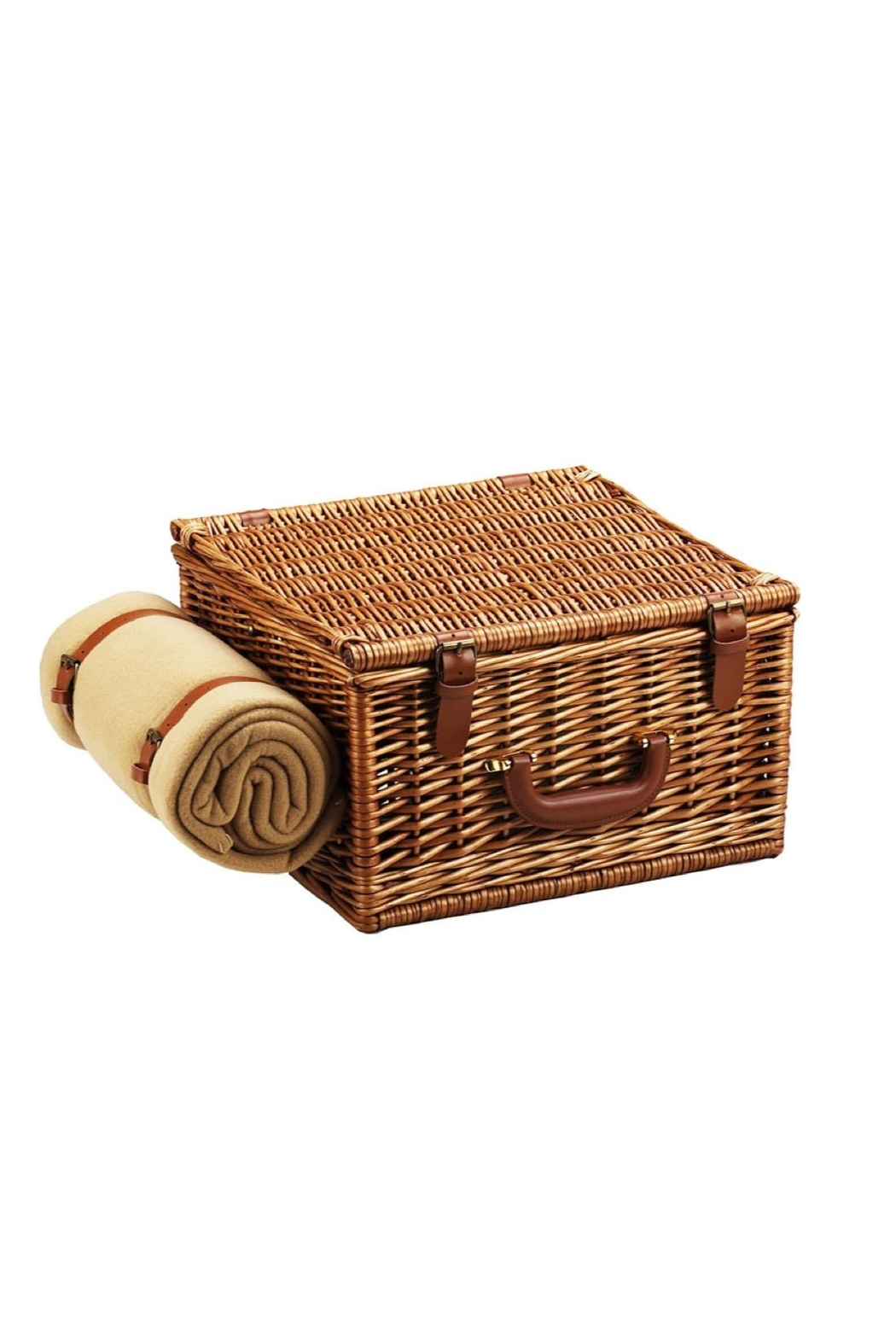 Picnic at Ascot  Picnic Basket Set - Front Full Image