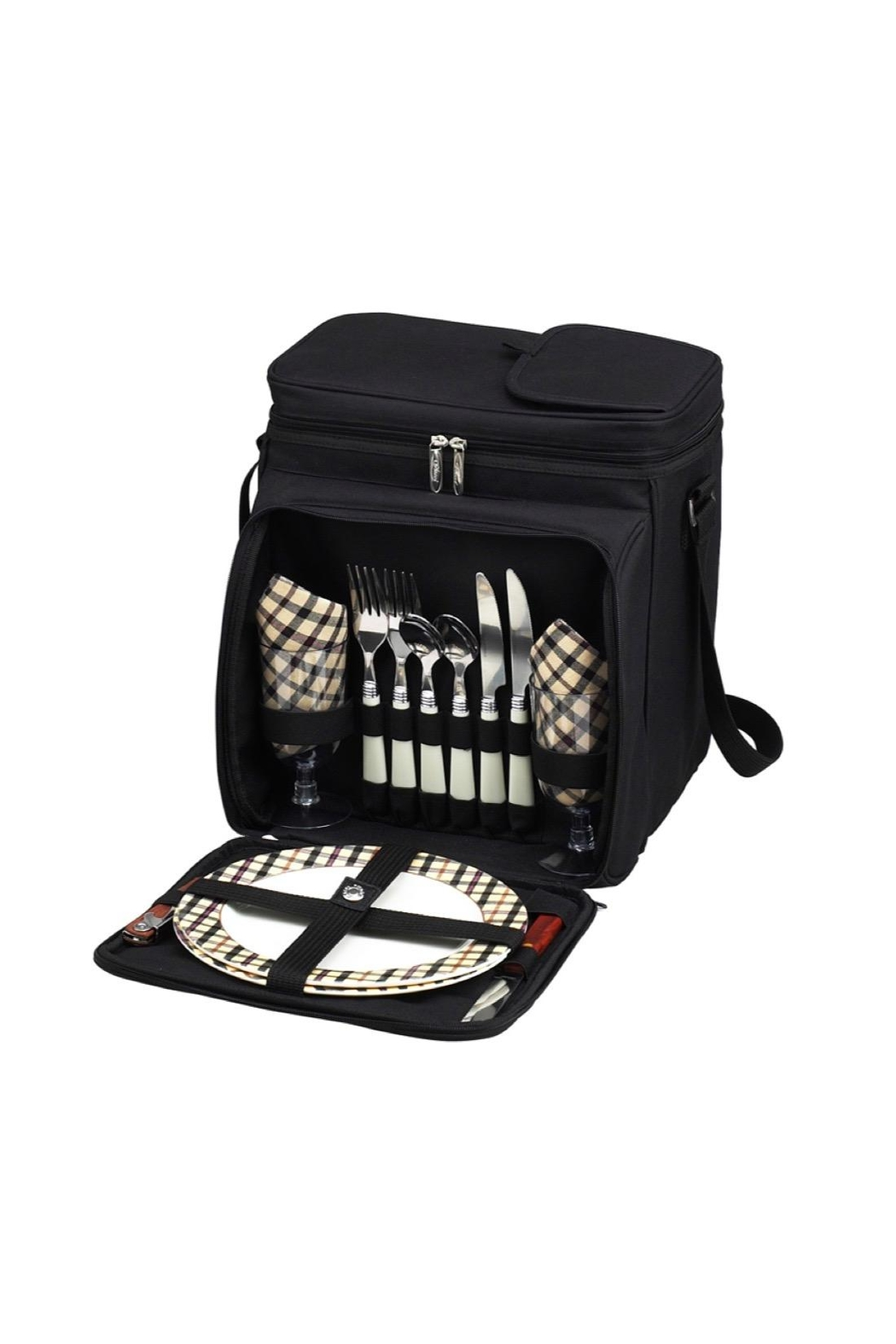 Picnic at Ascot  Picnic Cooler Tote - Main Image