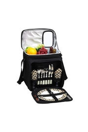 Picnic at Ascot  Picnic Cooler Tote - Front full body