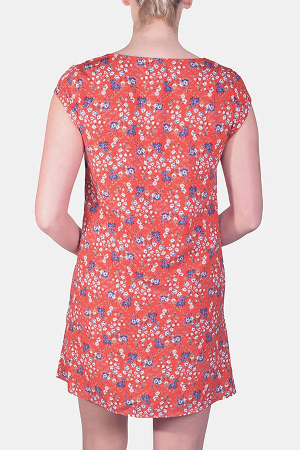 rokoko Picnic Floral Button-Down - Side Cropped Image