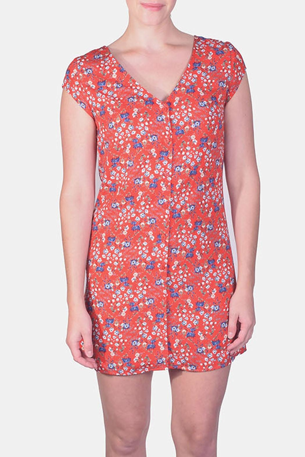 rokoko Picnic Floral Button-Down - Main Image