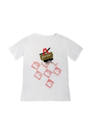Soft As A Grape Picnic Tee Shirt - Front cropped