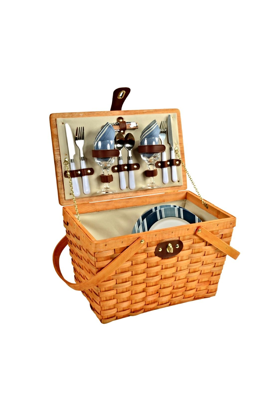 Picnic at Ascot  Classic Picnic Basket Set - Main Image