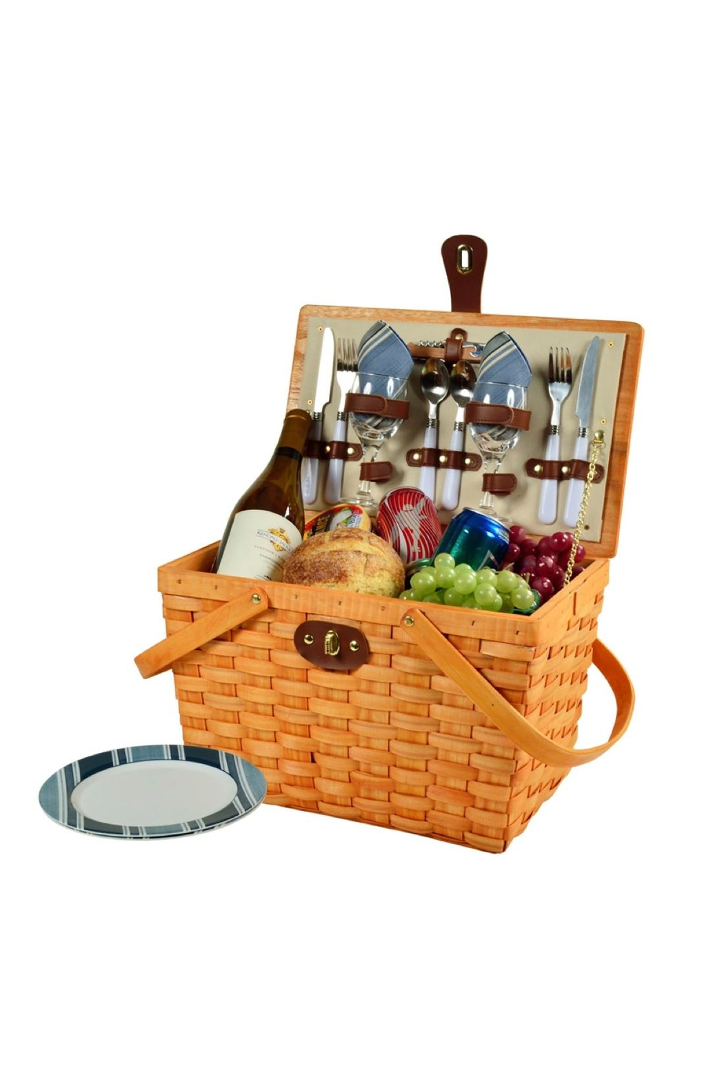 Picnic at Ascot  Classic Picnic Basket Set - Side Cropped Image