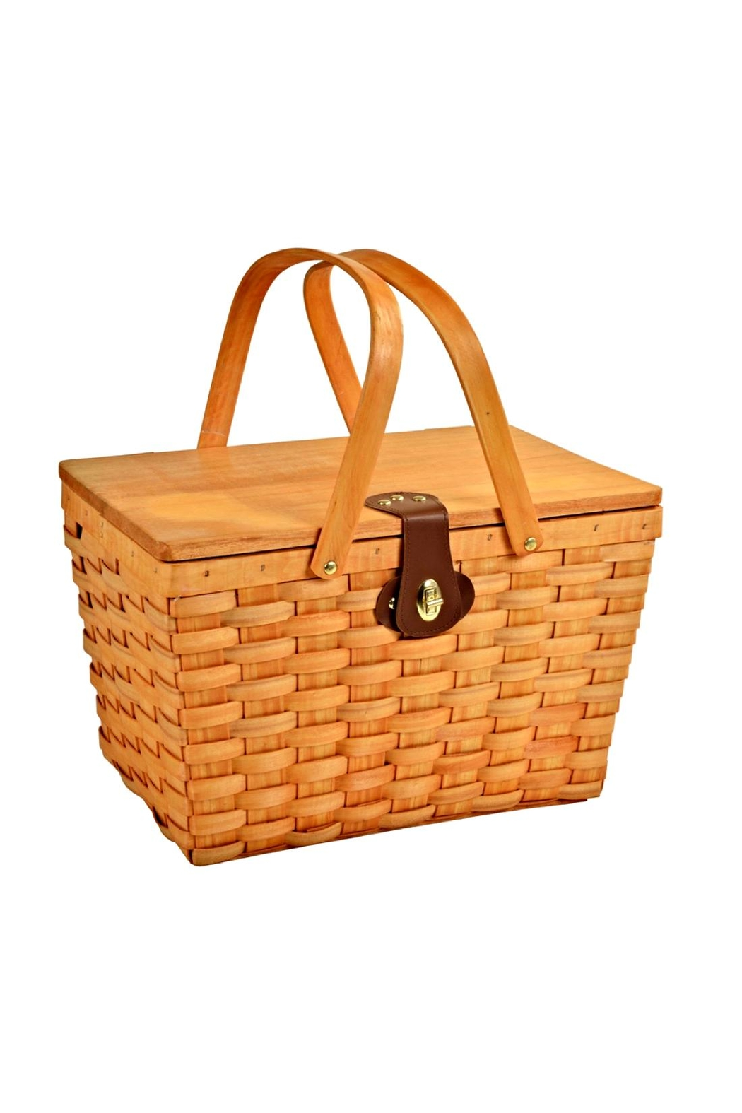 Picnic at Ascot  Classic Picnic Basket Set - Front Full Image