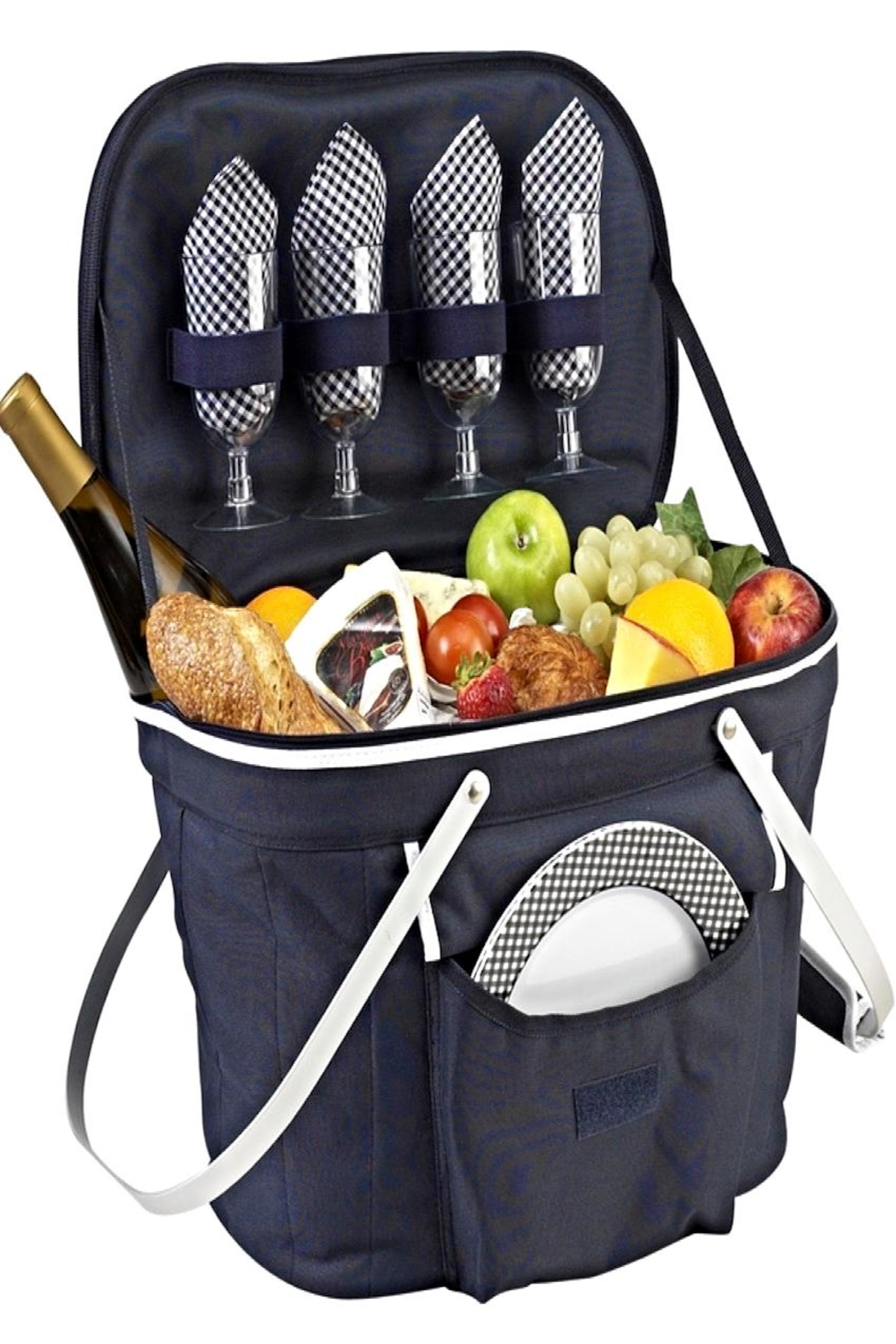 Picnic at Ascot  Collapsible Picnic Basket - Main Image