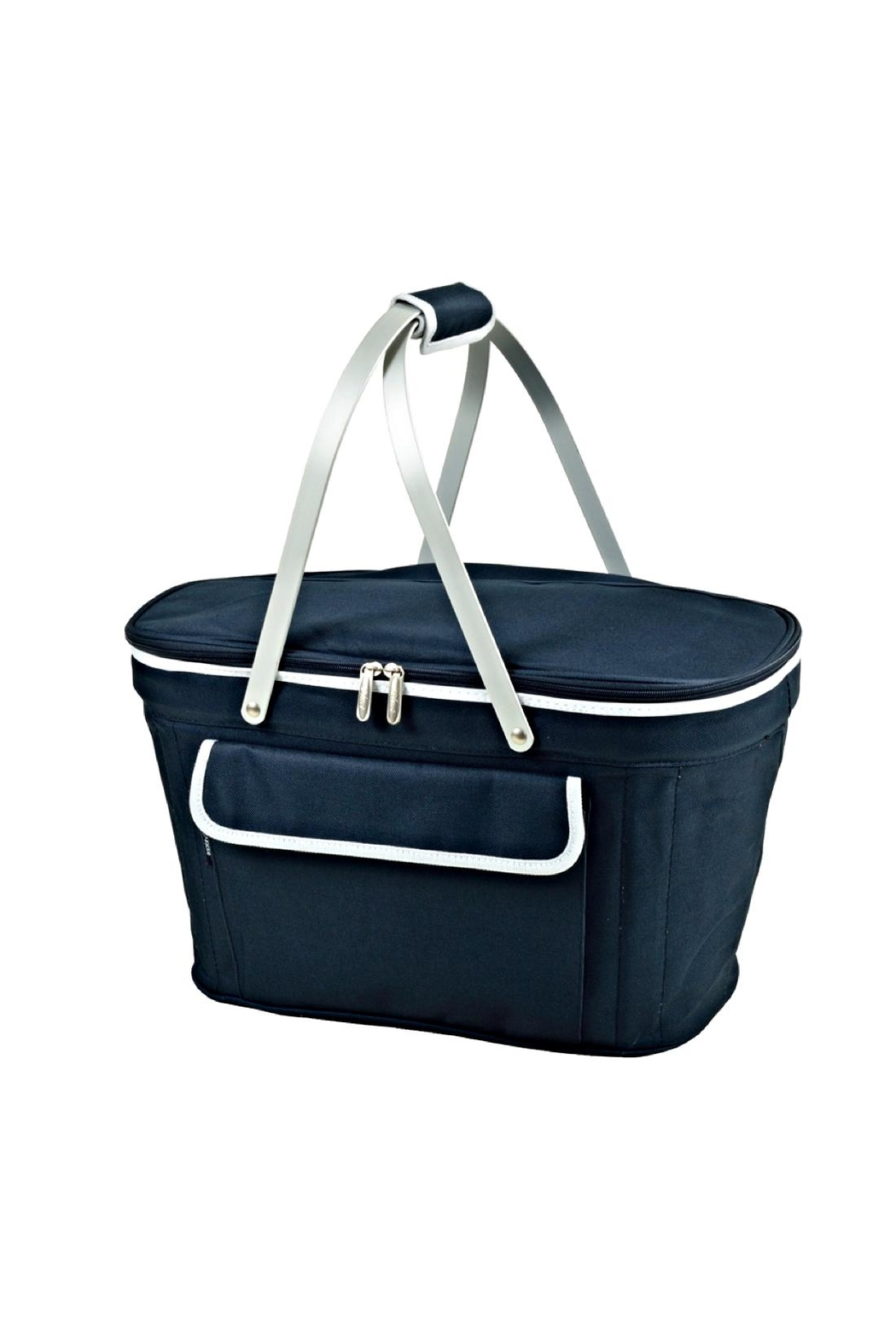 Picnic at Ascot  Collapsible Picnic Tote - Front Cropped Image