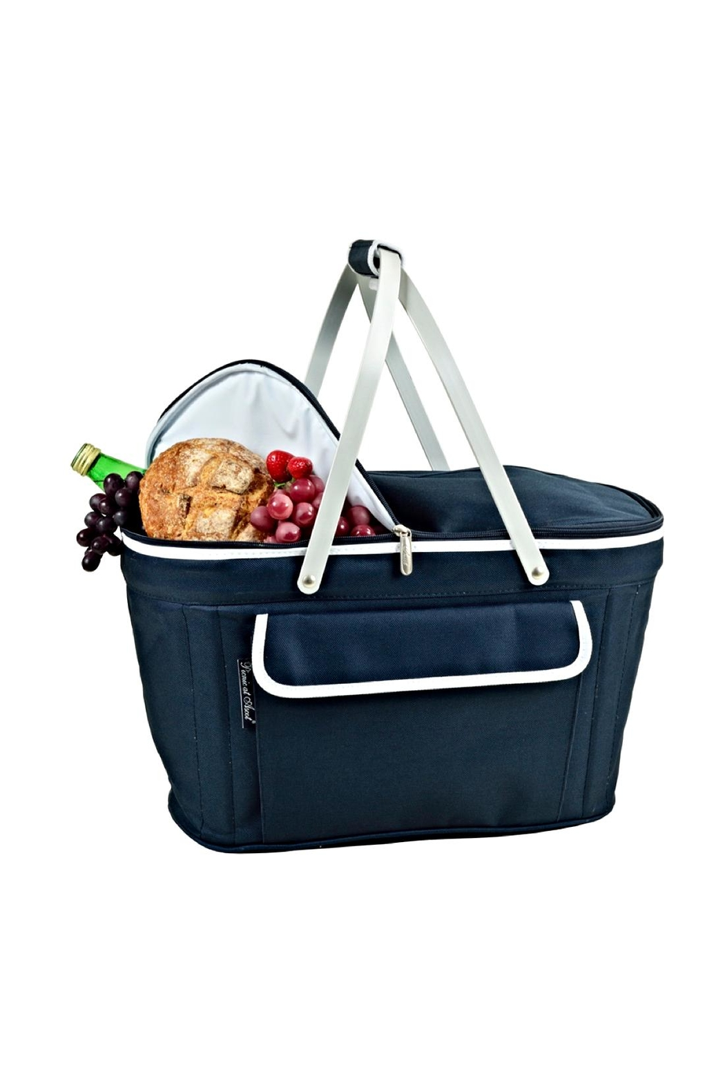 Picnic at Ascot  Collapsible Picnic Tote - Front Full Image