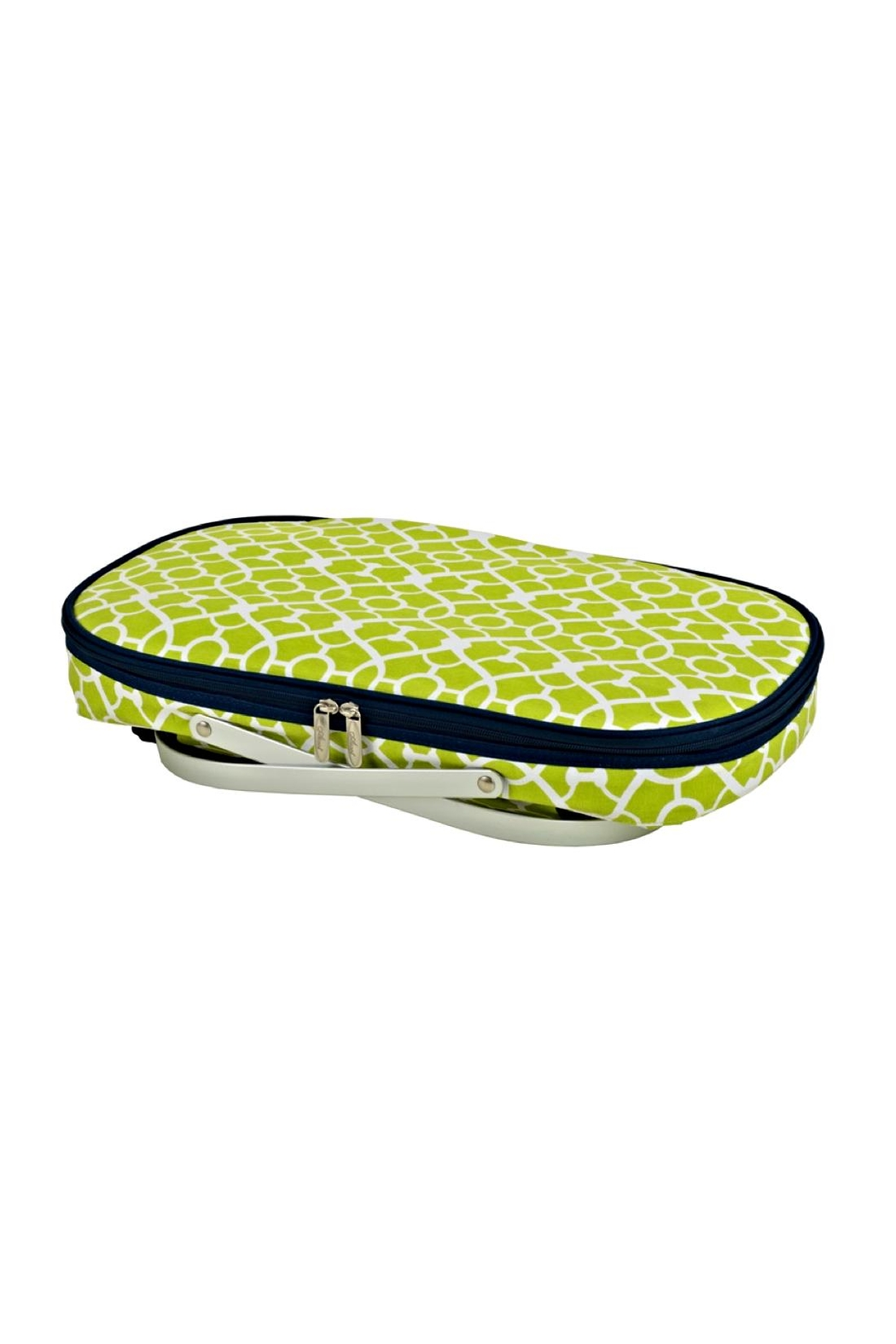 Picnic at Ascot  Collapsible Picnic Tote - Side Cropped Image