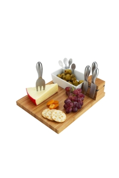 Picnic at Ascot  Custom Engraved Cheese Board - Product List Image