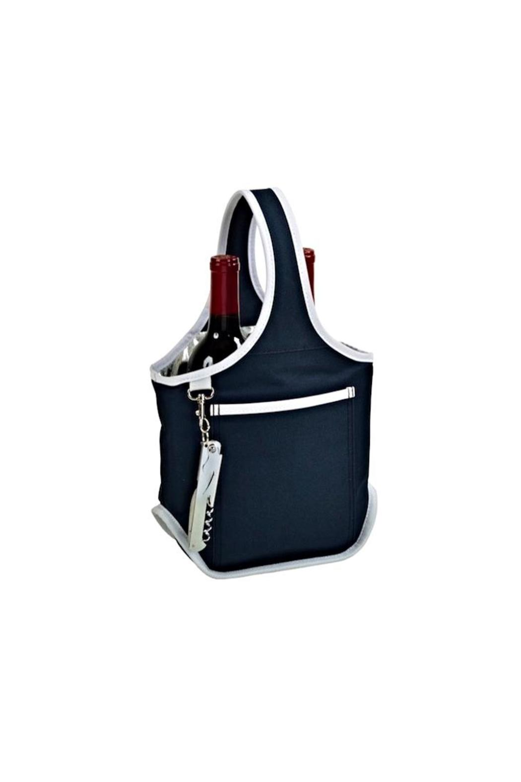 Picnic at Ascot  Double Wine Tote - Front Cropped Image