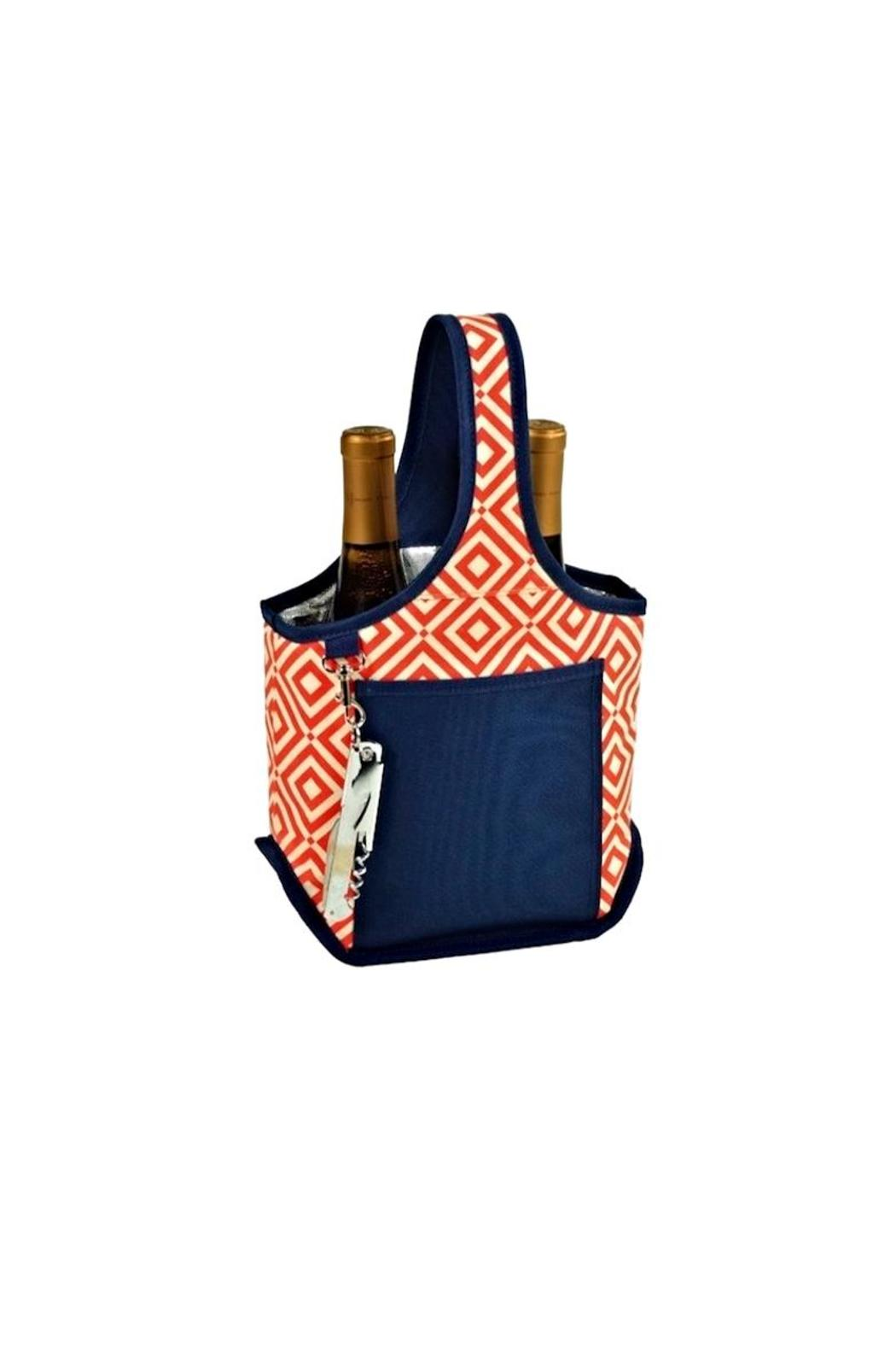 Picnic at Ascot  Double Wine Tote - Main Image