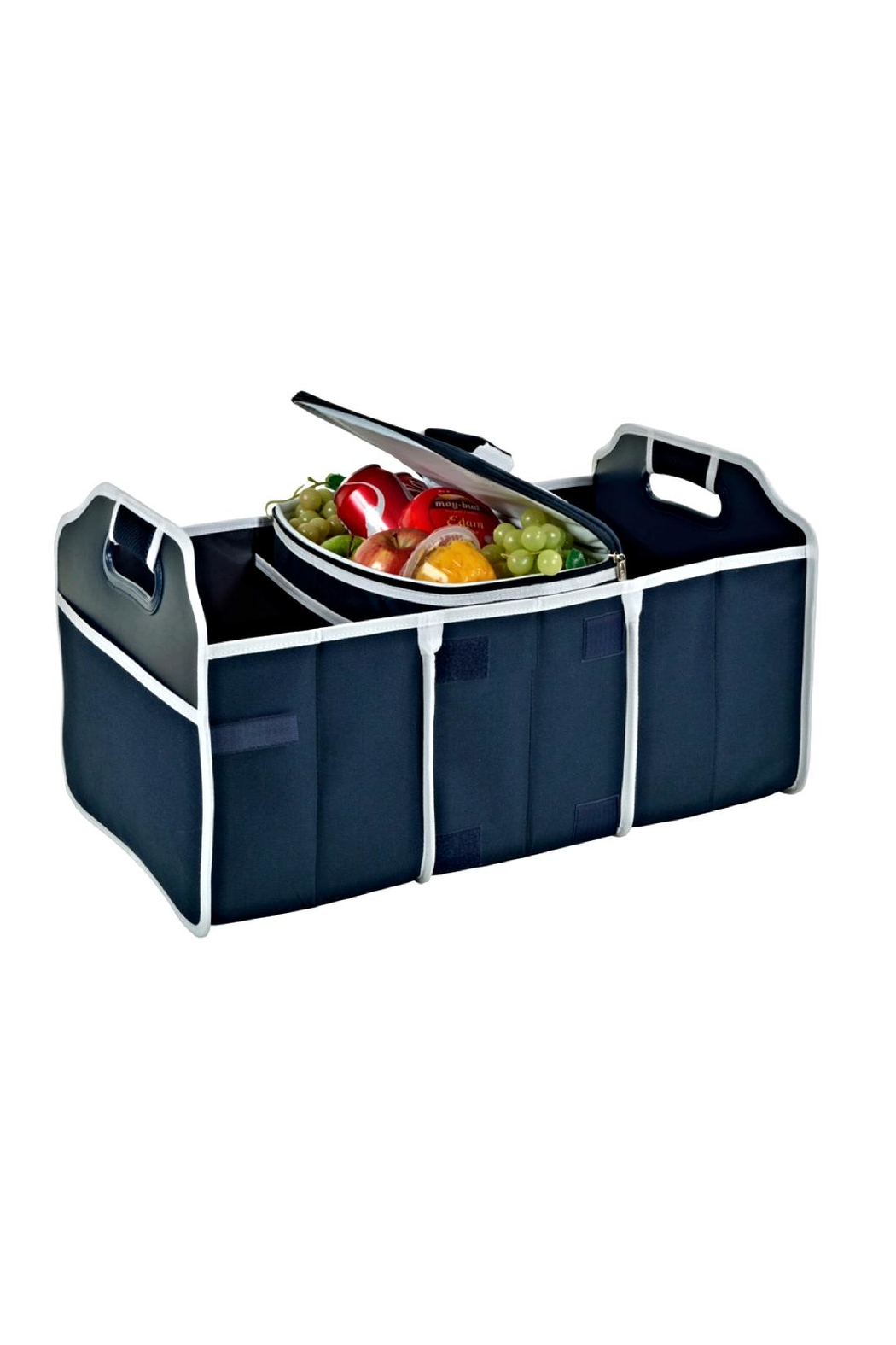 Picnic at Ascot  Folding Trunk Organizer - Front Cropped Image