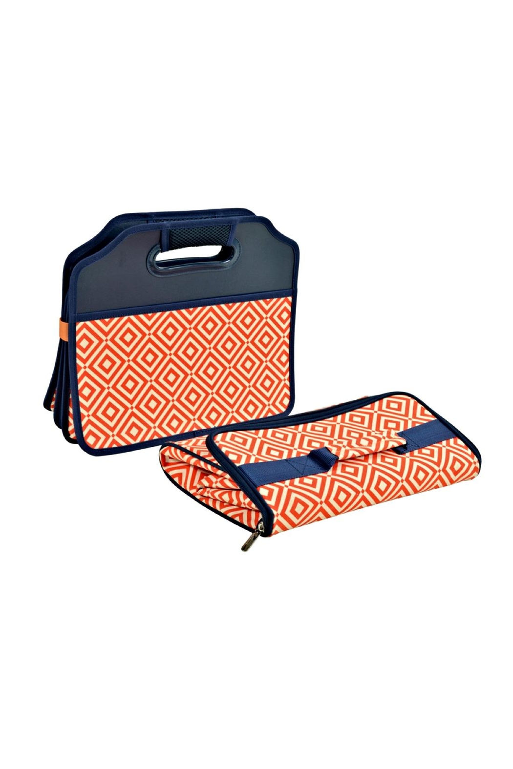 Picnic at Ascot  Folding Trunk Organizer - Side Cropped Image
