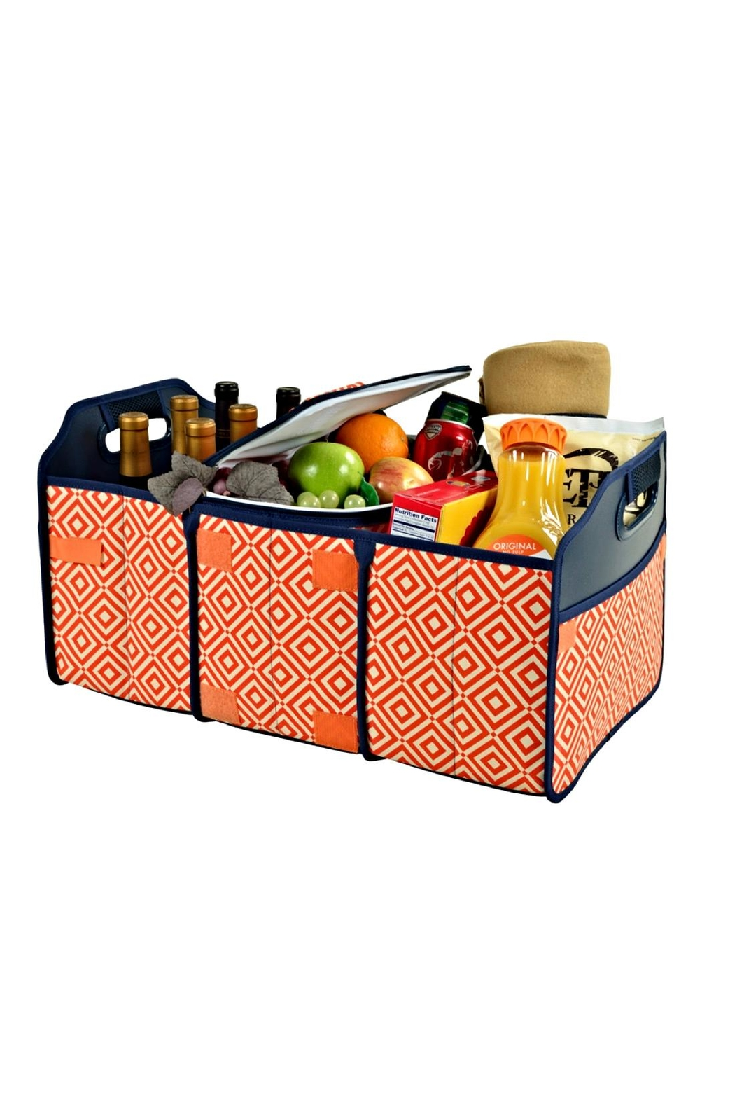 Picnic at Ascot  Folding Trunk Organizer - Front Full Image