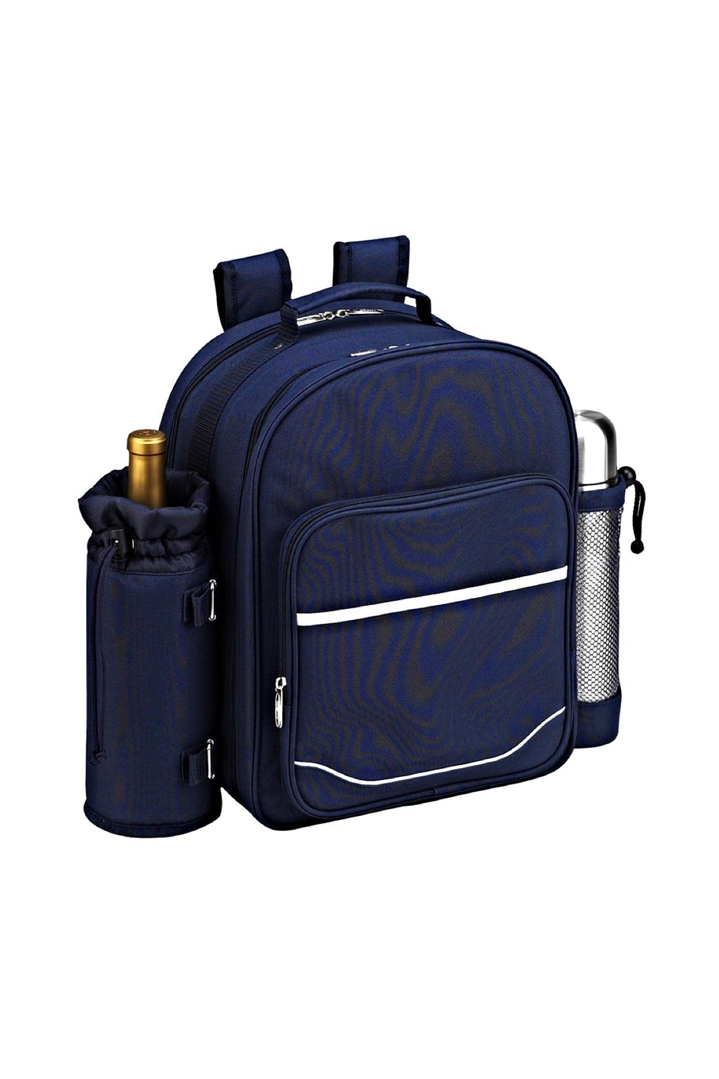 Picnic at Ascot  Insulated Backpack - Front Full Image